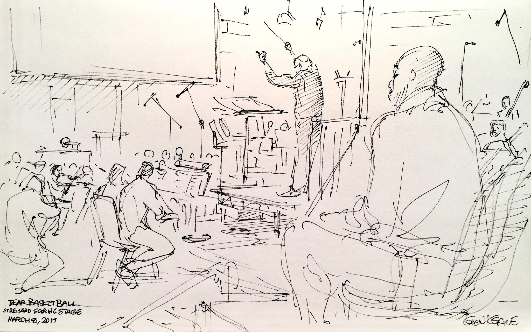 Drawing: Glen Keane via LA Times