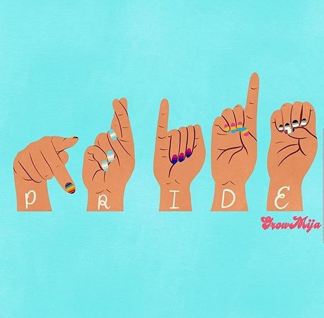 #Pride 🎨: @growmija