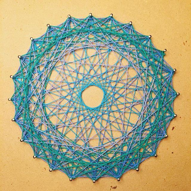 #arttherapy #hanalokahi #hanalokahitherapy String Art #mandala
