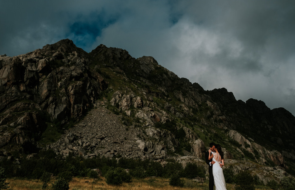 Pre wedding session in the Lofoten Islands