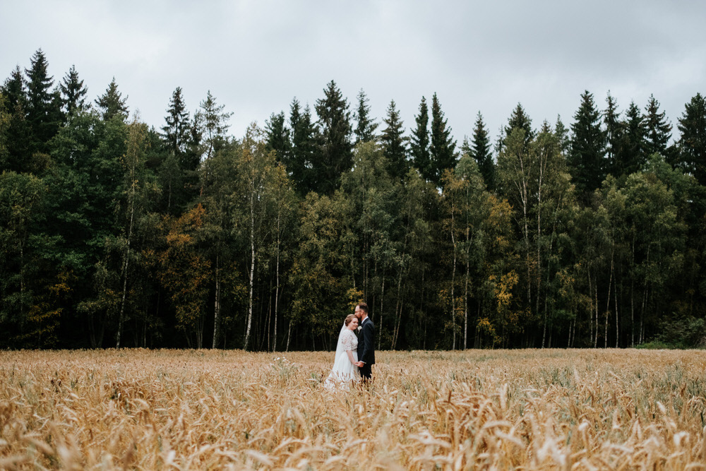 Fall wedding in Oslo