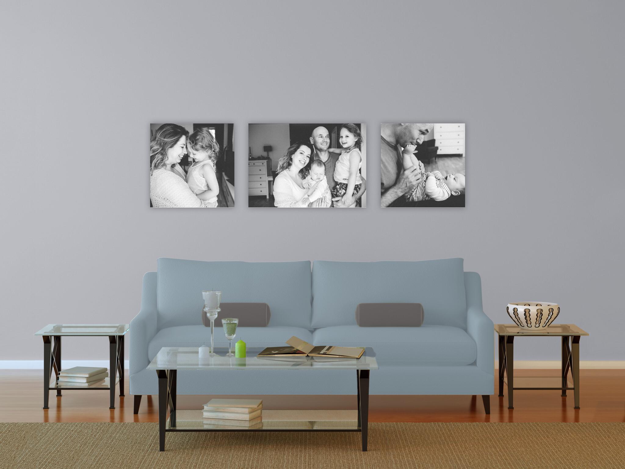 Känns det svårt att visualisera hur era bilder kommer att se ut hemma hos er? Ingen fara - vi kan visa er exakt hur snyggt det blir och ger er våra bästa tips och rekommendationer. Lite som att ha en heminredare.