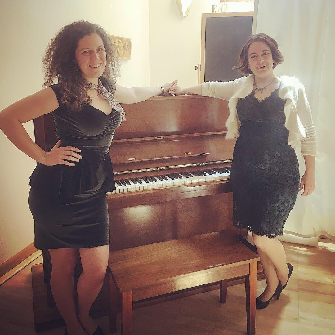 Liz Kohl and soprano, Angelica Hesse