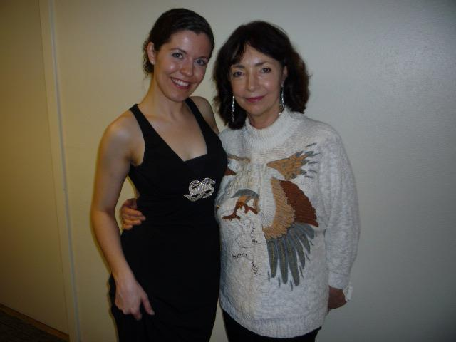 Myself and my incredible piano instructor and Artist-in-Residence at Baylor University, Ms. Krassimira Jordan, 2012