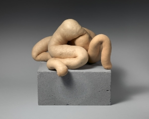 Sarah Lucas's anthropomorphic  Nud Cycladic 9