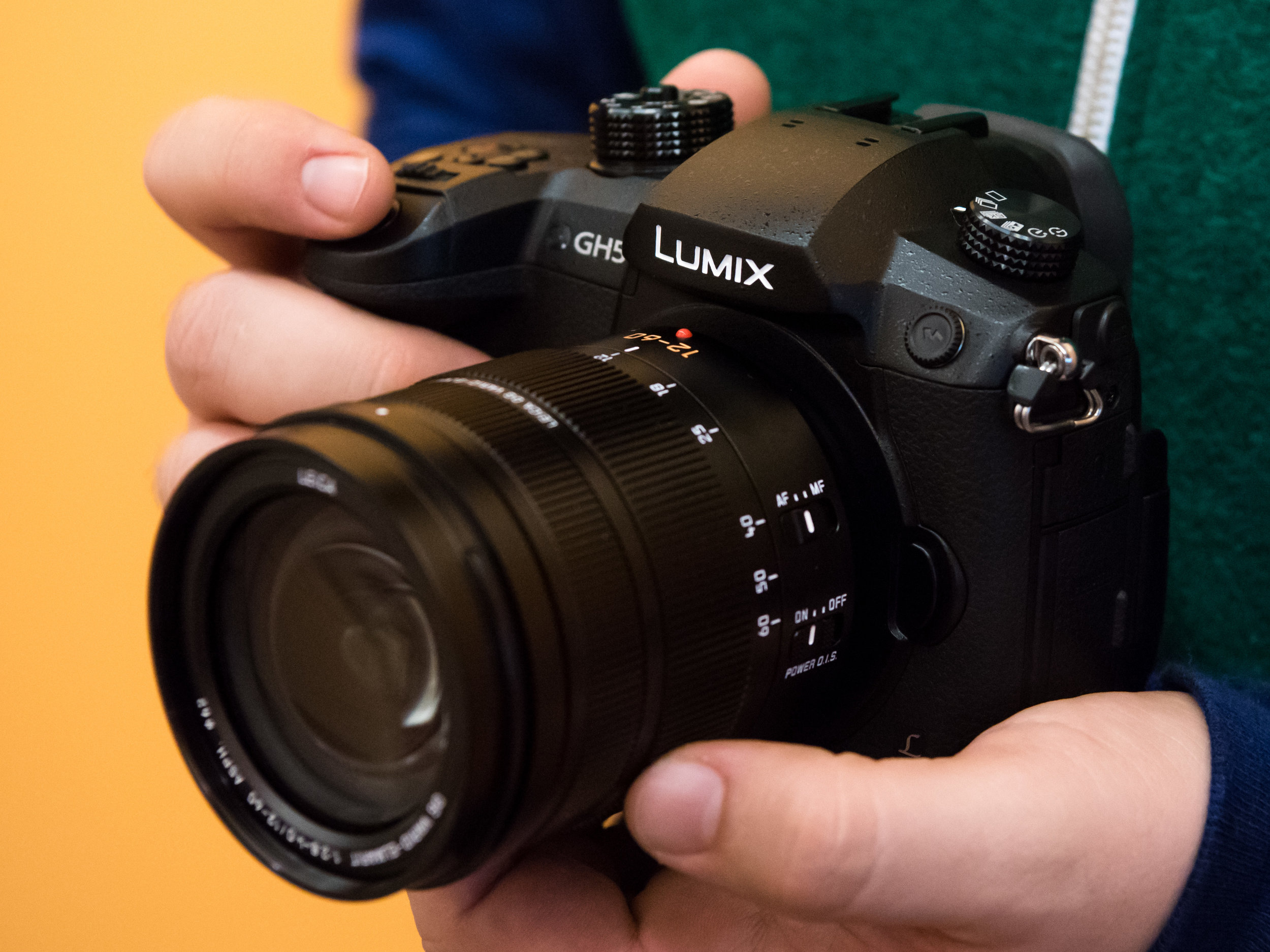 A Panasonic Lumix GH5 is an example of a popular micro four thirds mirrorless system.
