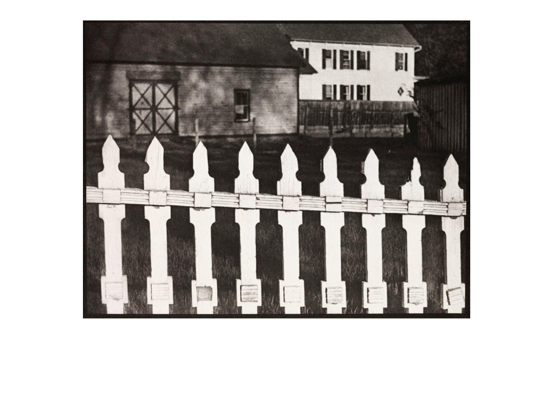 Paul Strand  White Fence  1916
