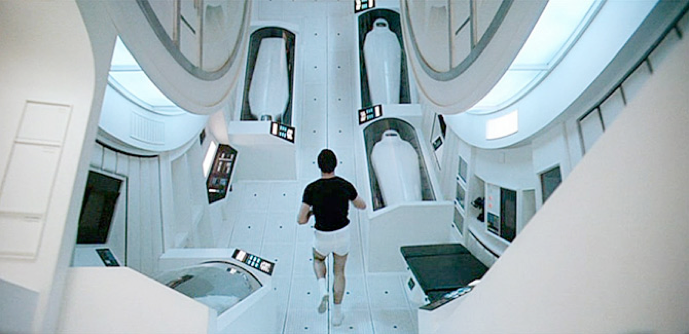 2001, A Space Odyssey  is and example of a film that primarily uses high-key lighting