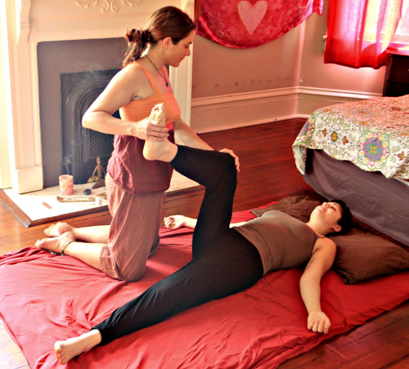 Pregnancy Thai Massage