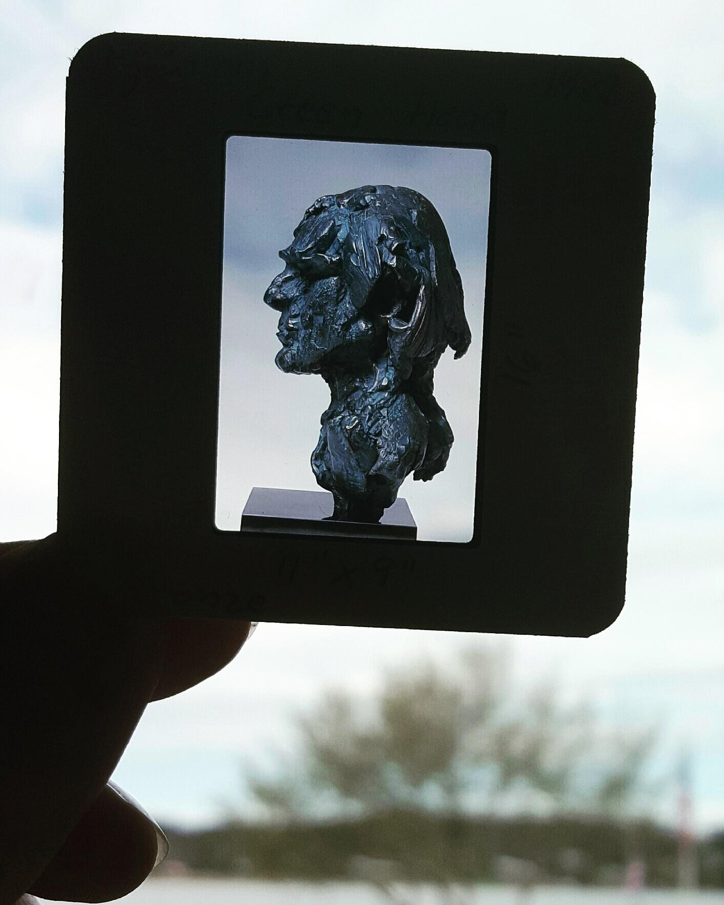 sculpture turned surrealist photograph -