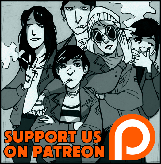 Support the comic on Patreon   for updates, exclusive content, soundtracks for every issue, and high-res PDFs of every issue!