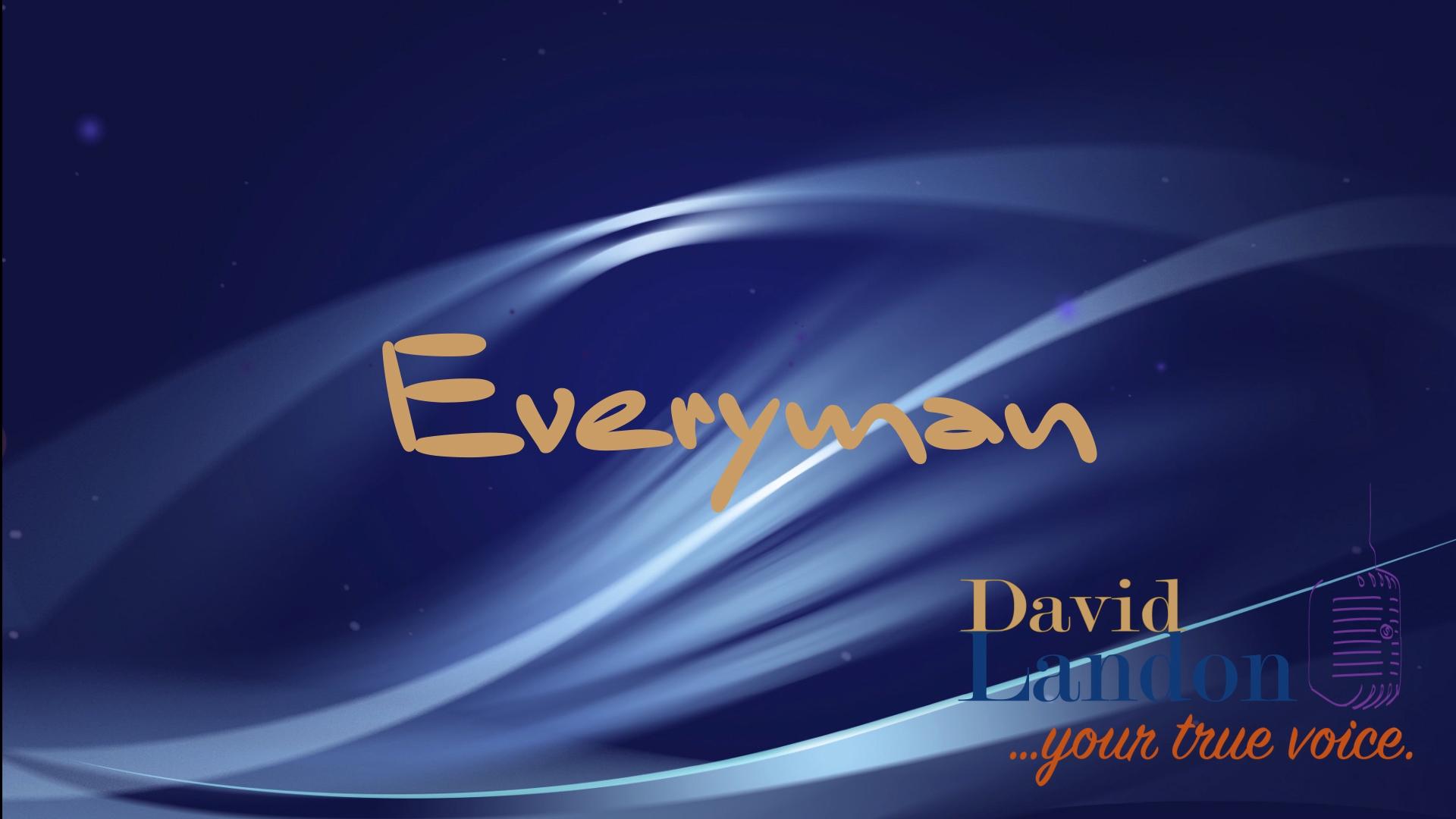 "David Landon ""Everyman"" Visual Demo"
