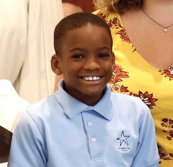 Jacob Green  is in 3rd grade. He is our youngest scholarship winner! He loves animals, break dancing and singing. But most importantly, he has a positive attitude that really shined through in his video! Keep it up Jacob!