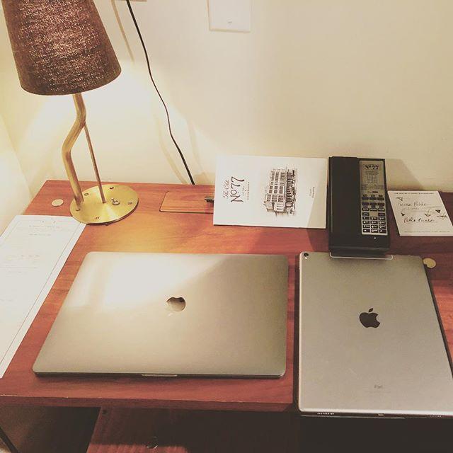 #todaysoffice #pharmacist #oldno77hotel #healthcare #writer #apple