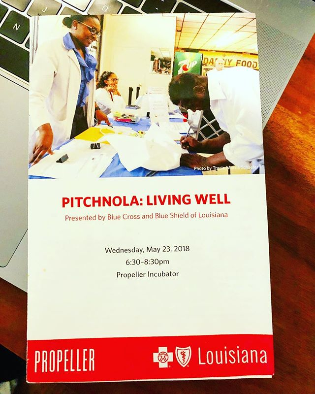 Had so much fun and learned so much at the #pitchnola event yesterday @gopropeller