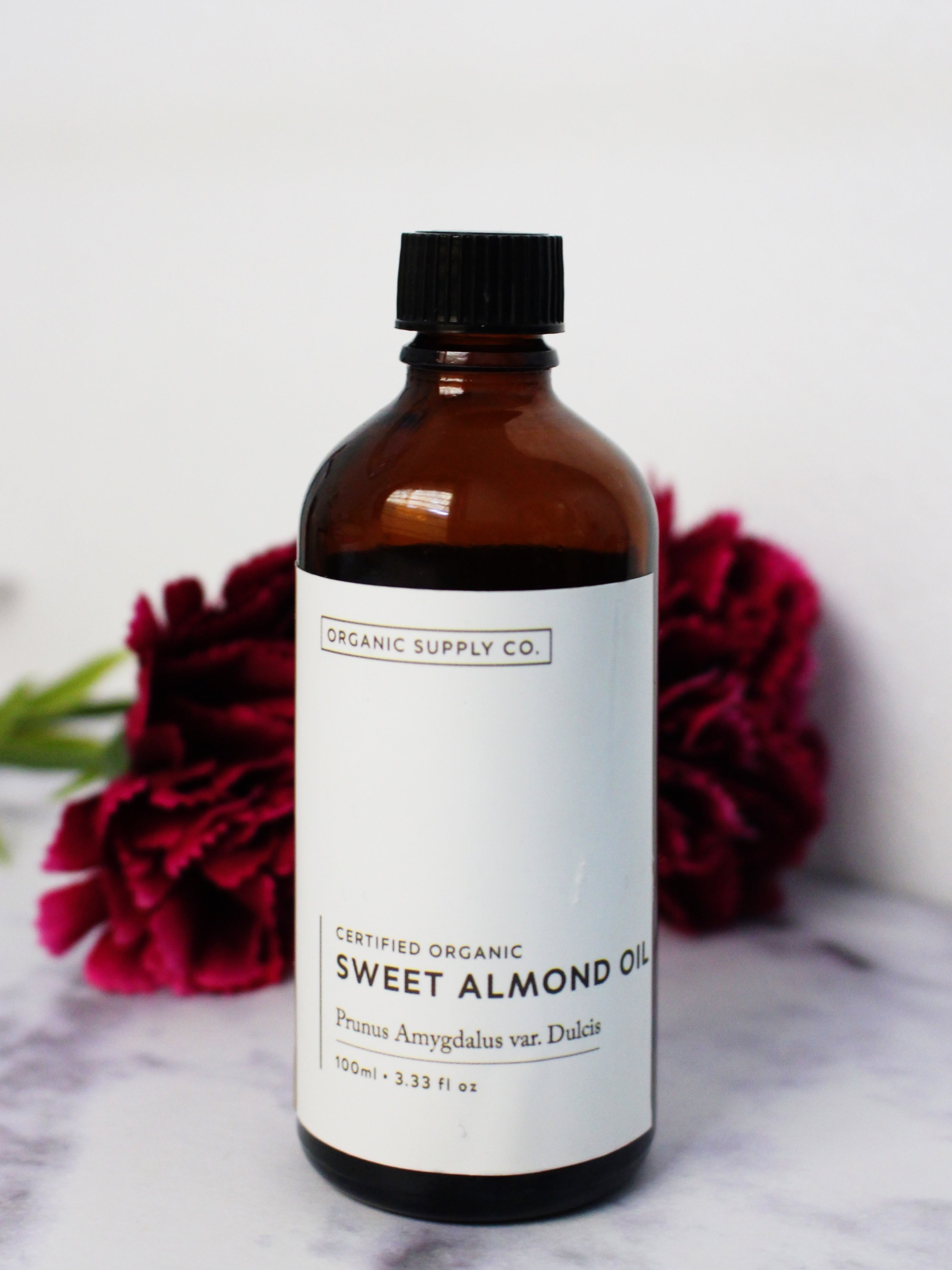 Sweet Almond Oil - by Organic Supply Co.
