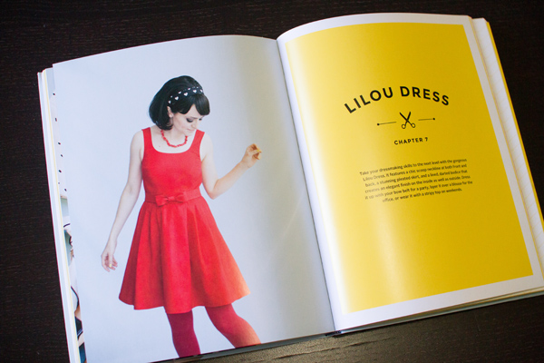 """Lilou Dress from """"Love at First Stitch"""" by Tilly Walnes"""