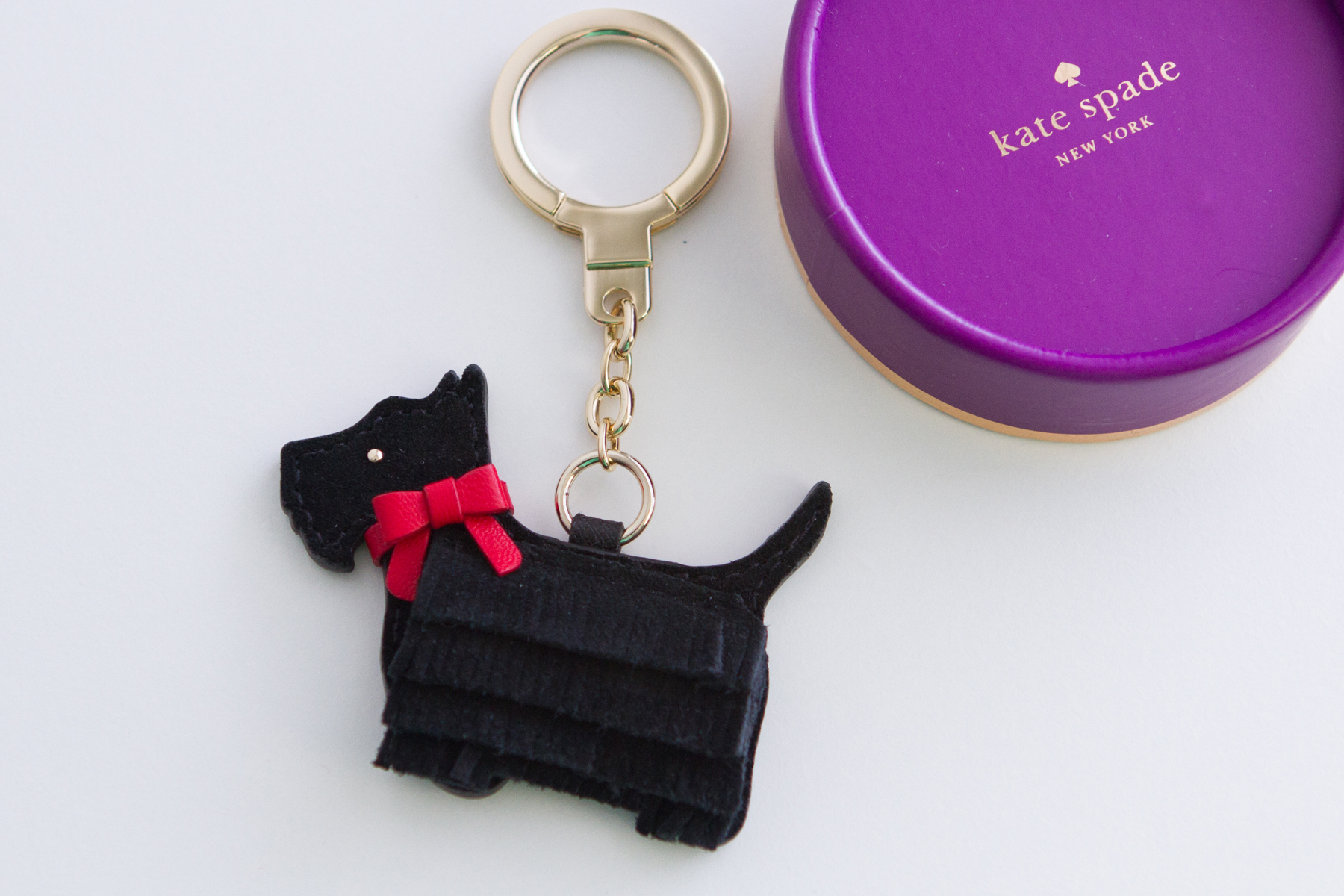 Lulu Dog Keychain
