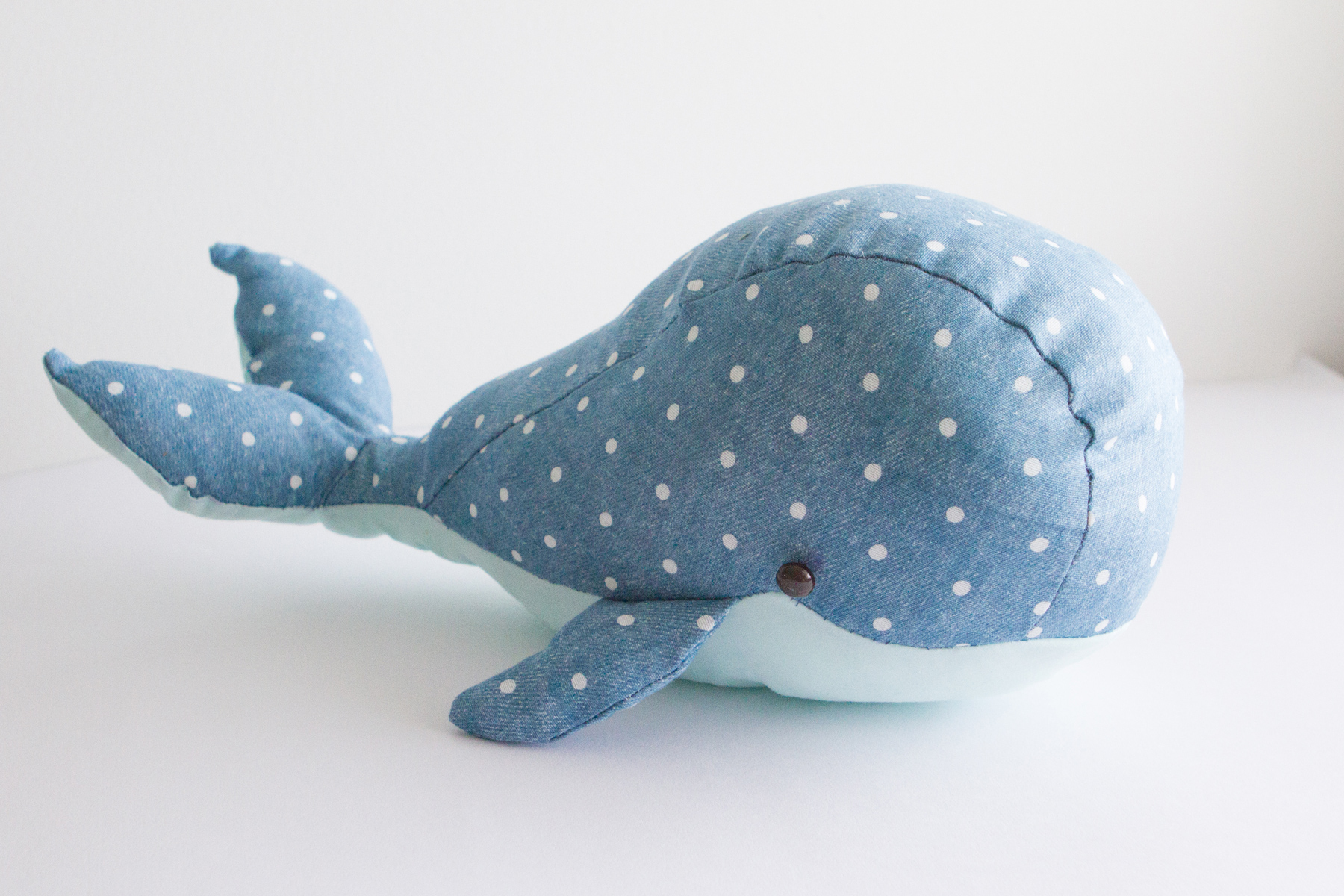 The whale I made, I'm in love.