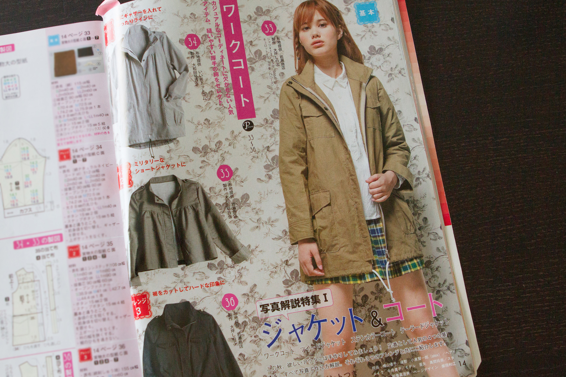 Fall jacket and coats issue