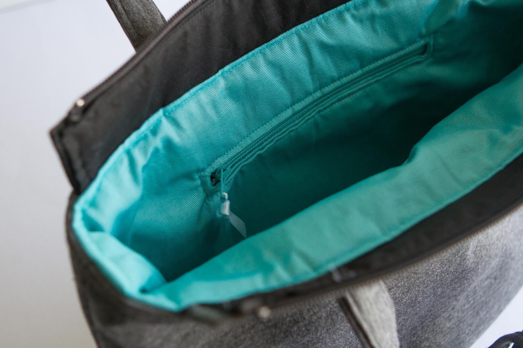 Zip pocket