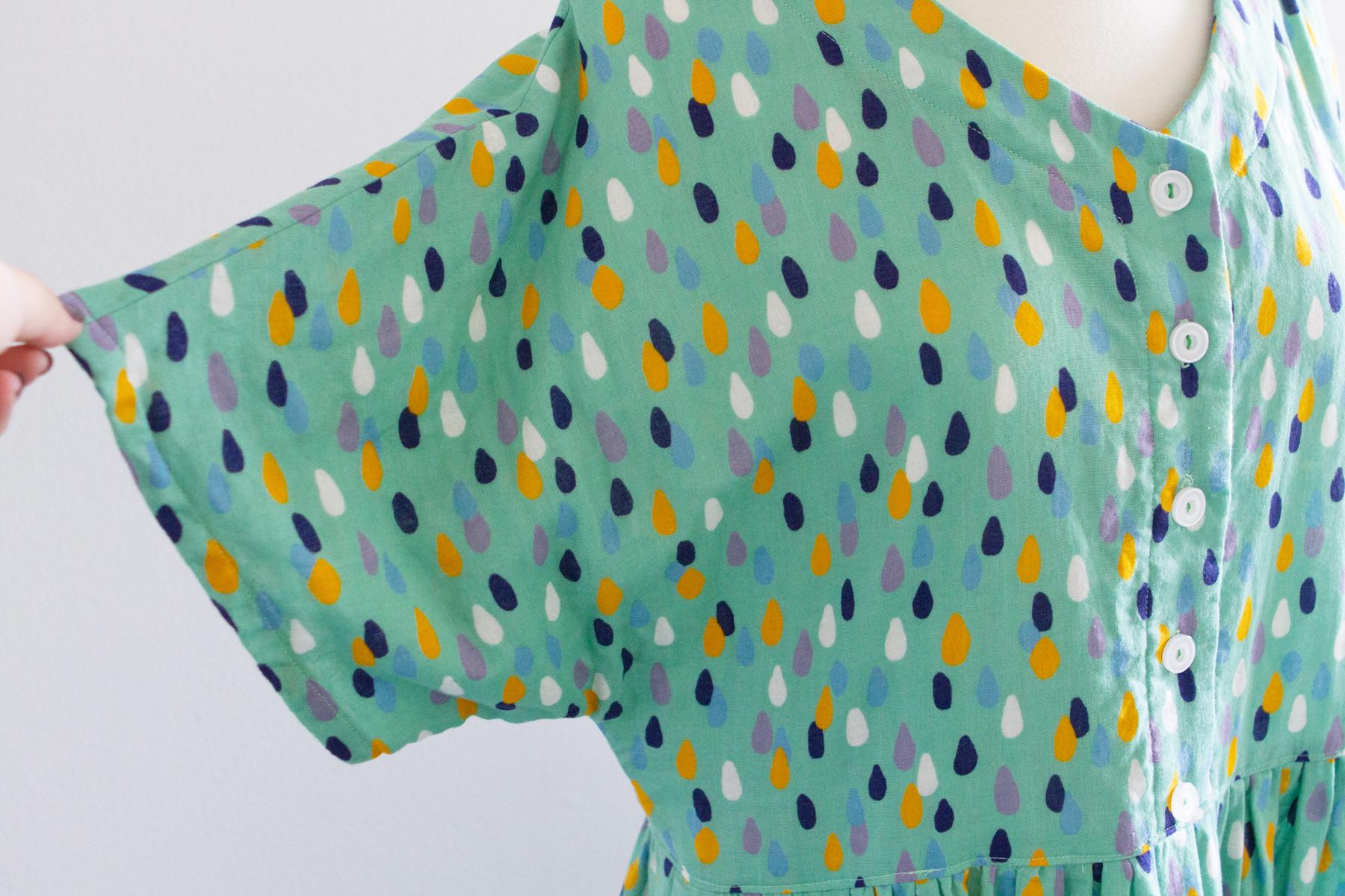 Dolman sleeves