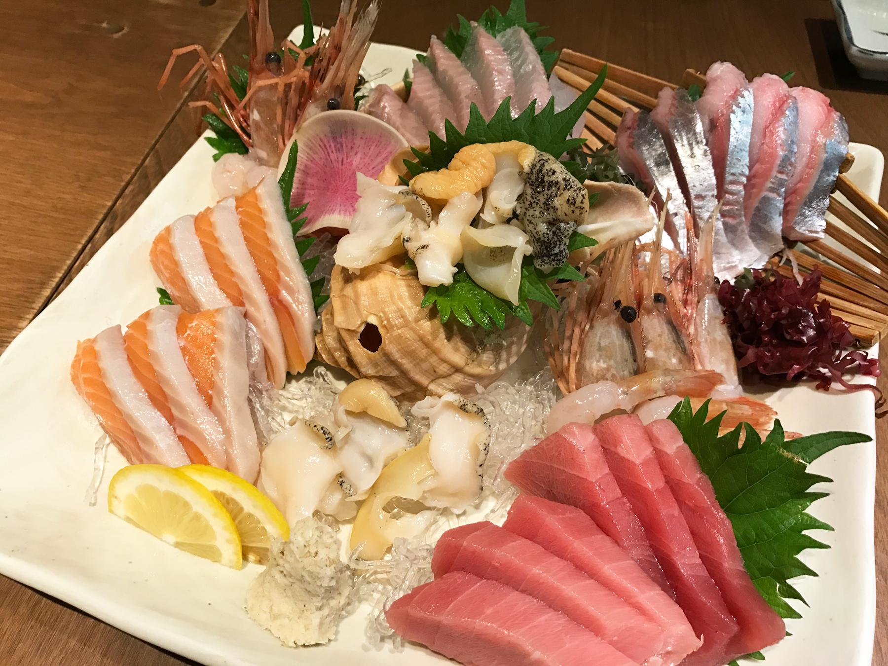 Dinner at Izakaya