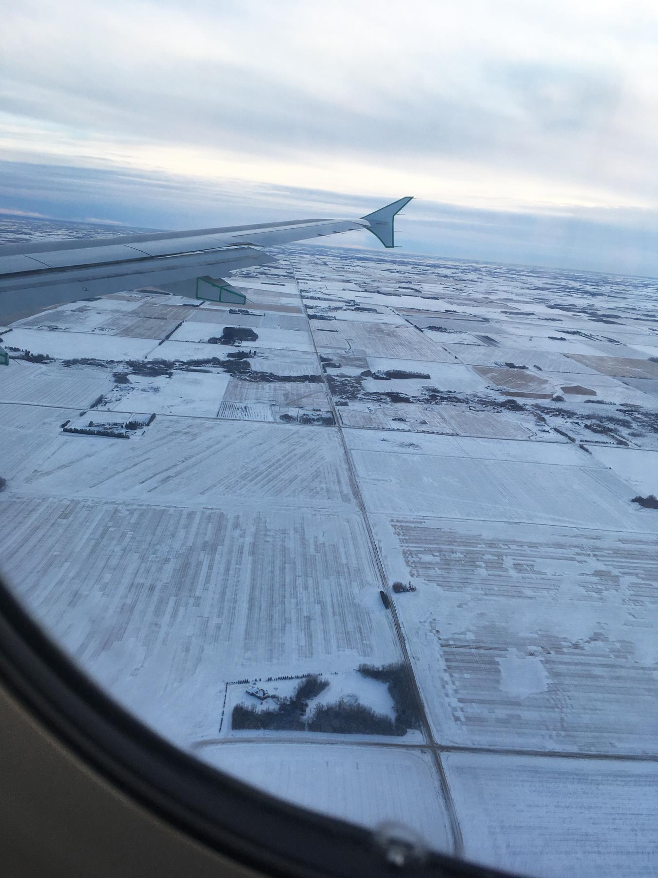 Back in Canada!