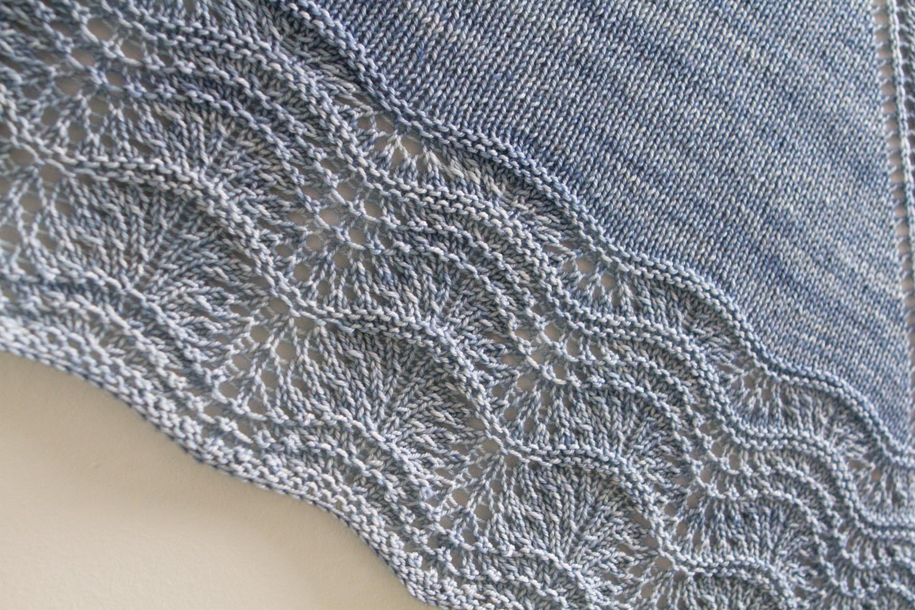 Lace pattern up close