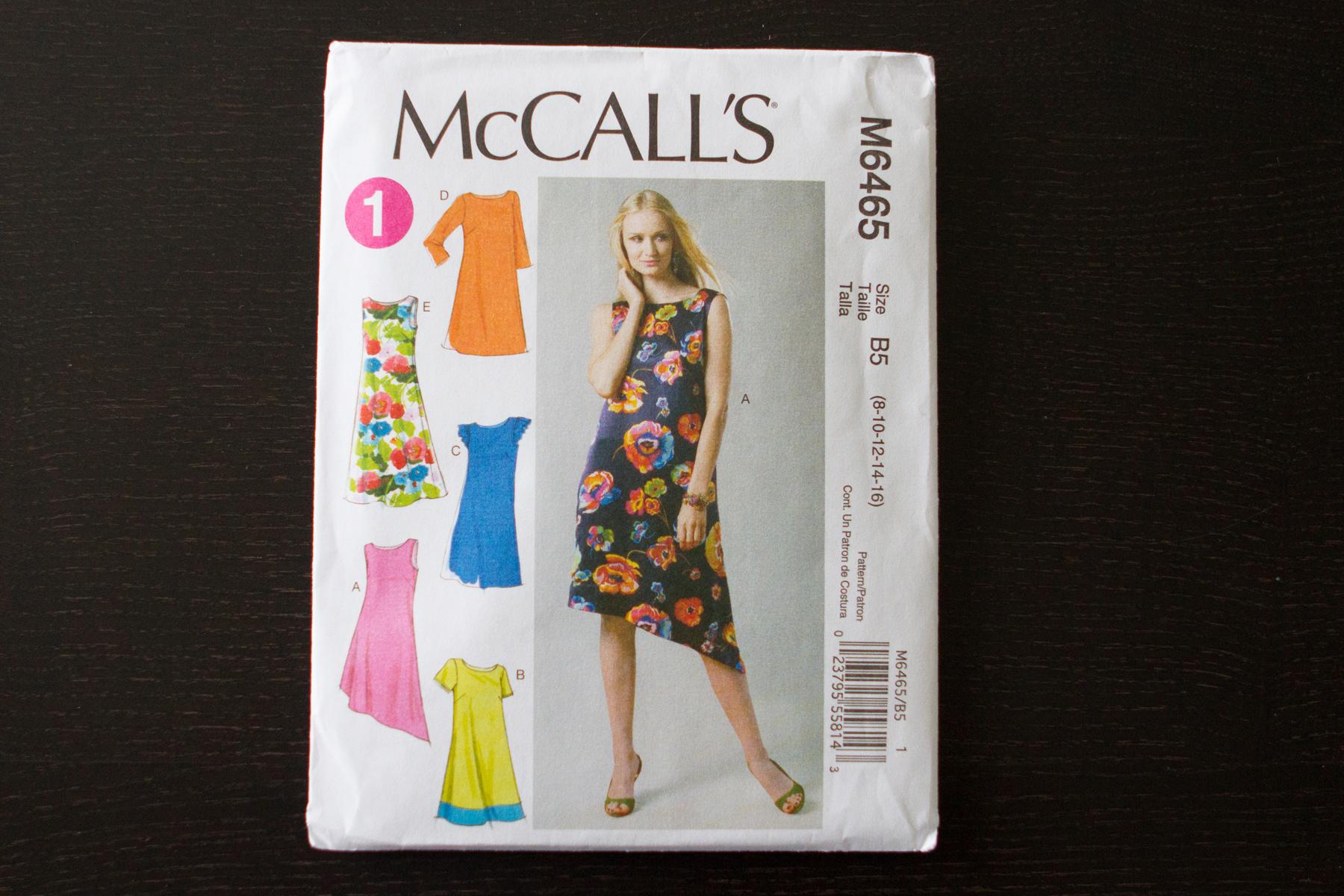 McCall's M6465