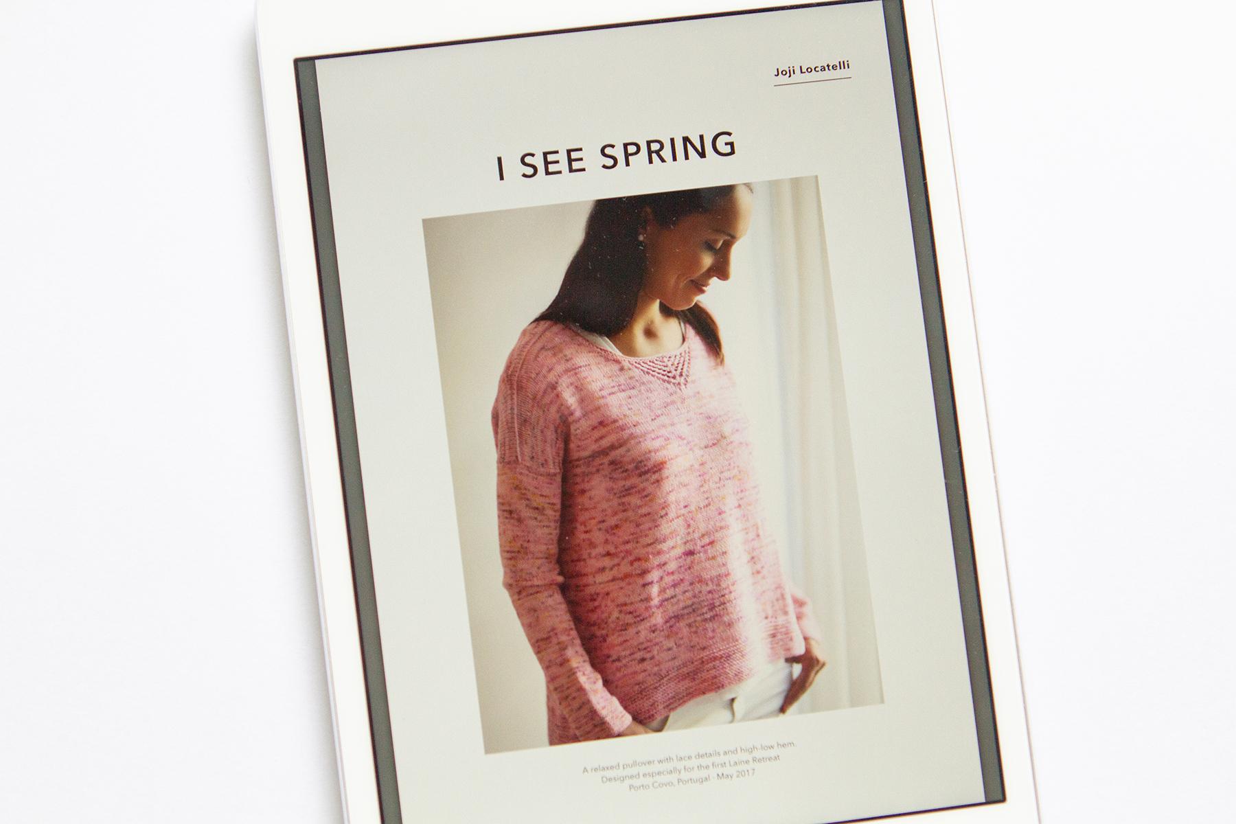I See Spring by Joji Locatelli
