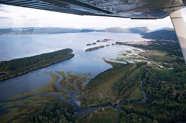 Estuaries of the Chemainus River and Bonsall Creek. Today we are heading to the Cowichan to observe rescue efforts underway for juvenile coho salmon. Low rainfall and high temperatures have left water levels too low and fish trapped in rapidly warming and diminishing pools.  #duncan #cowichanvalley  #cowichan  #salmon  #pacificnorthwestco  #vancouverisland  #climatechange