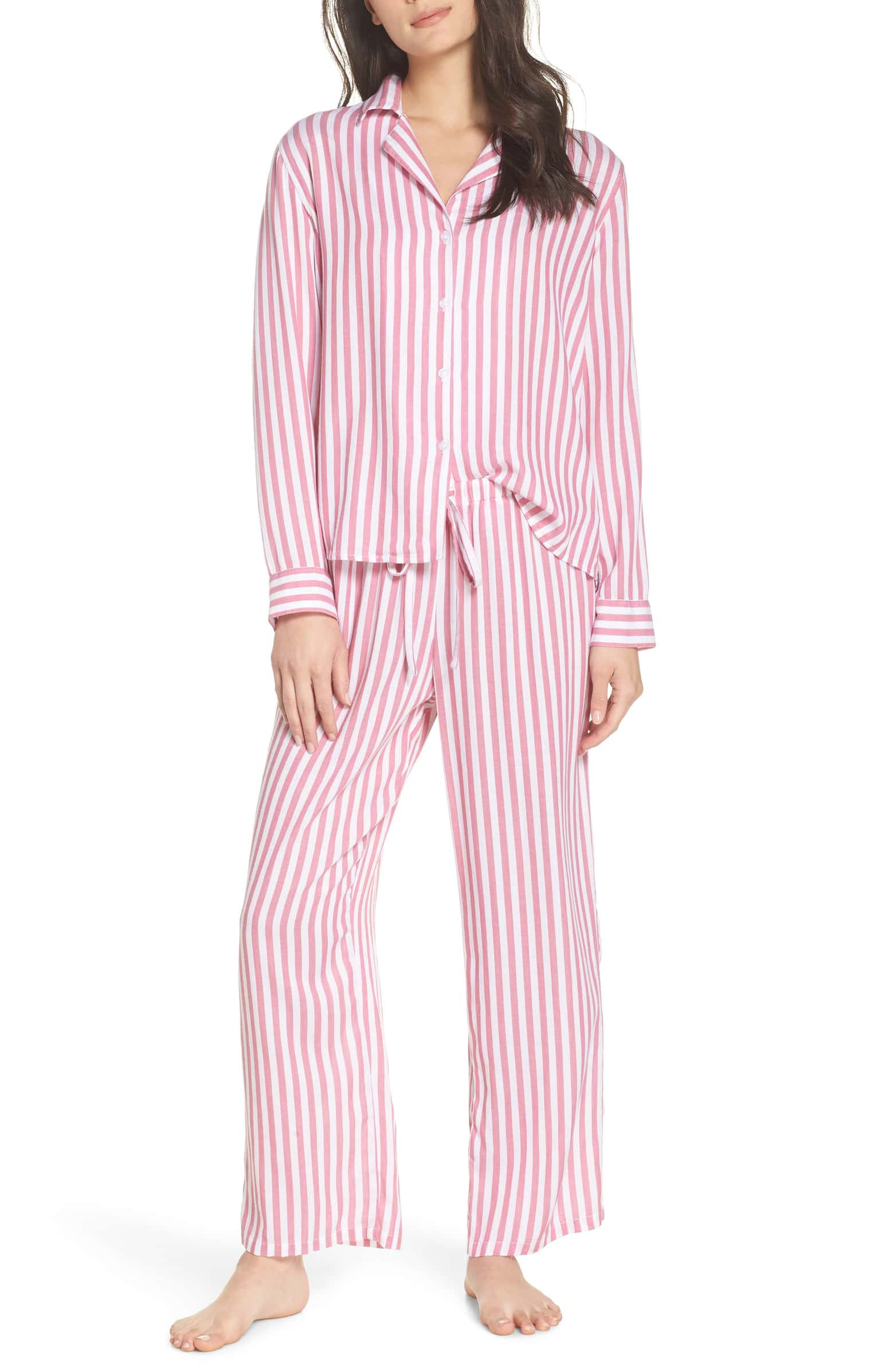 Rails PJ Set - I'll admit I am not the best at wearing matching pajamas, but I love the idea of it. Striped pajamas are so cute to me. Maybe this will be the season I change my ways!