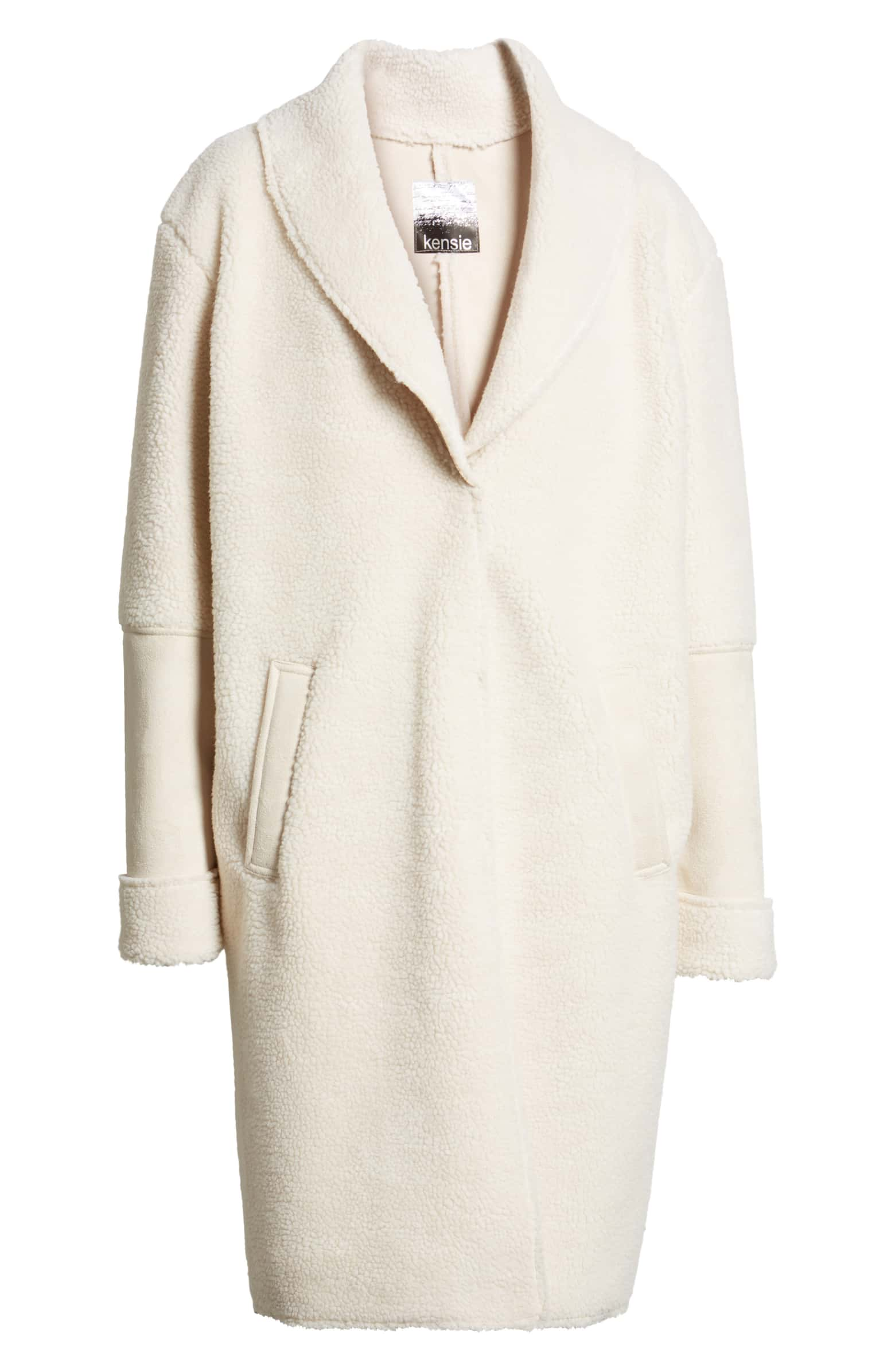 kensie Shearling Coat - You knew it was coming. I have a weakness for coats, and I am loving the fit of this one - hoping to get my hands on this piece soon.