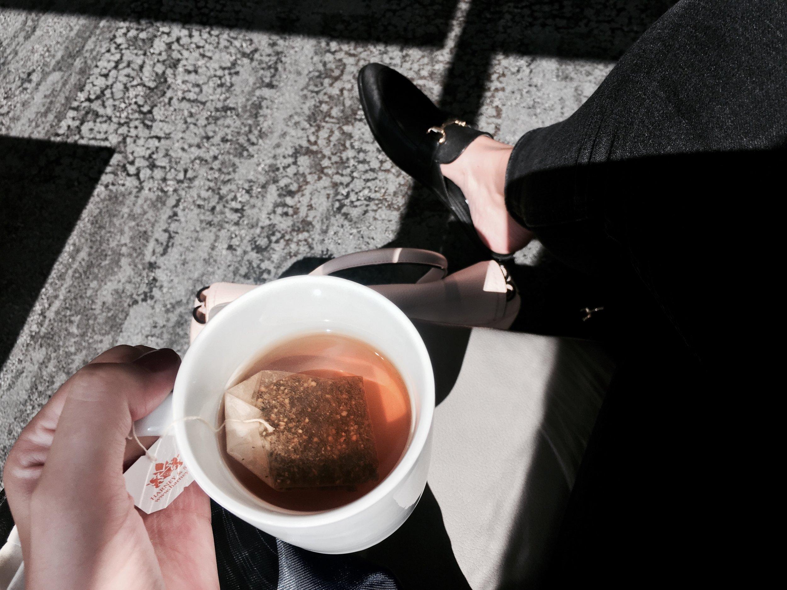 tea pre flight