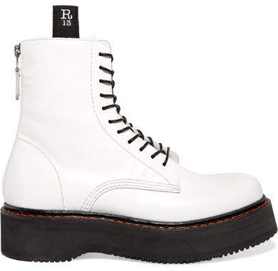 R13 Denim White Platform Boots - Another weakness of mine. Boots. I love wearing shorter boots year round, and these are perfect to add an edge to any outfit. Dr. Martens also has a more affordable option here.