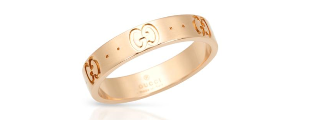 Gucci Icon Band - I love the look of a gold band ring (or a couple) for an everyday jewelry look. Mejuri also has a more affordable but still just as chic version here.