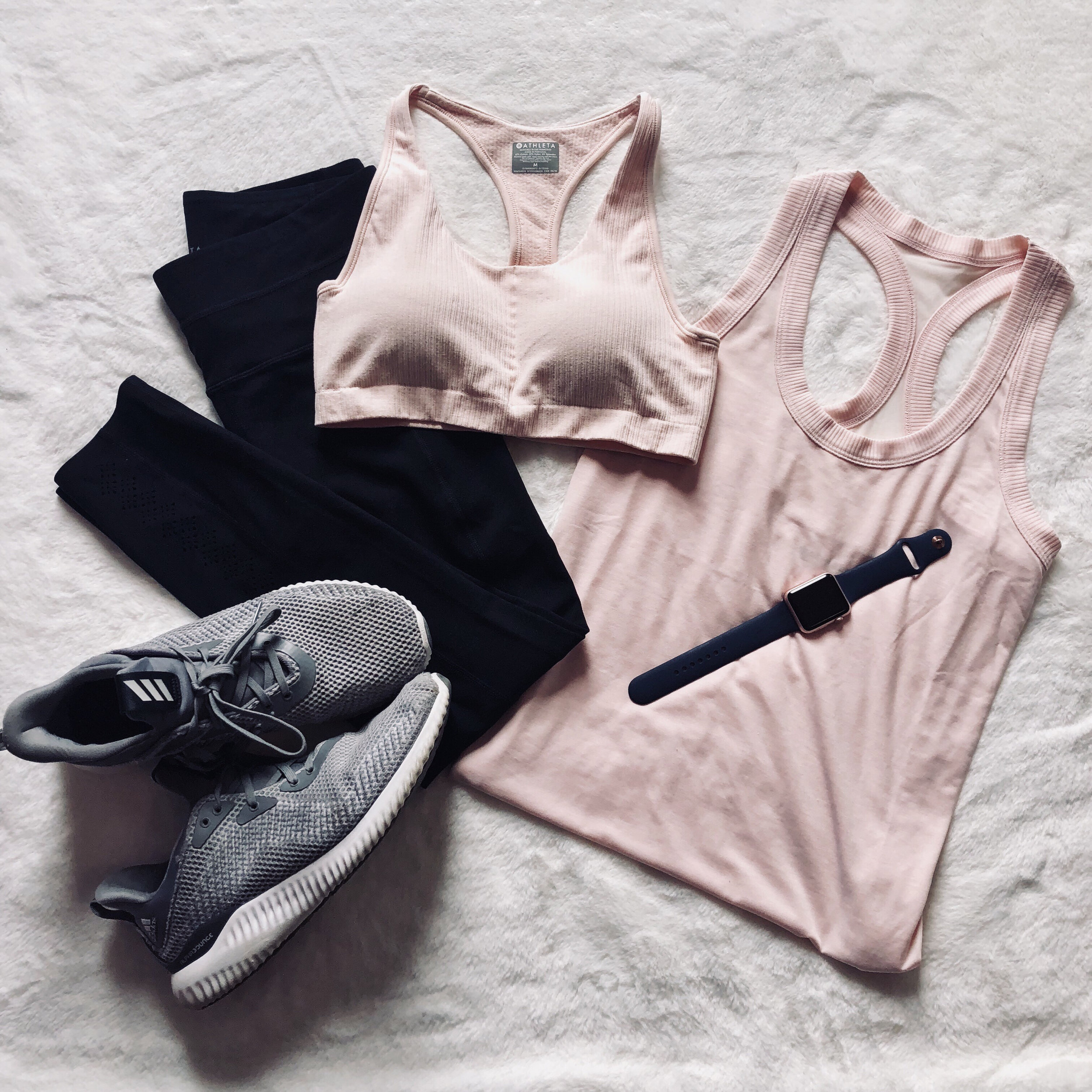 - I found the perfect pink workout outfit at Athleta.