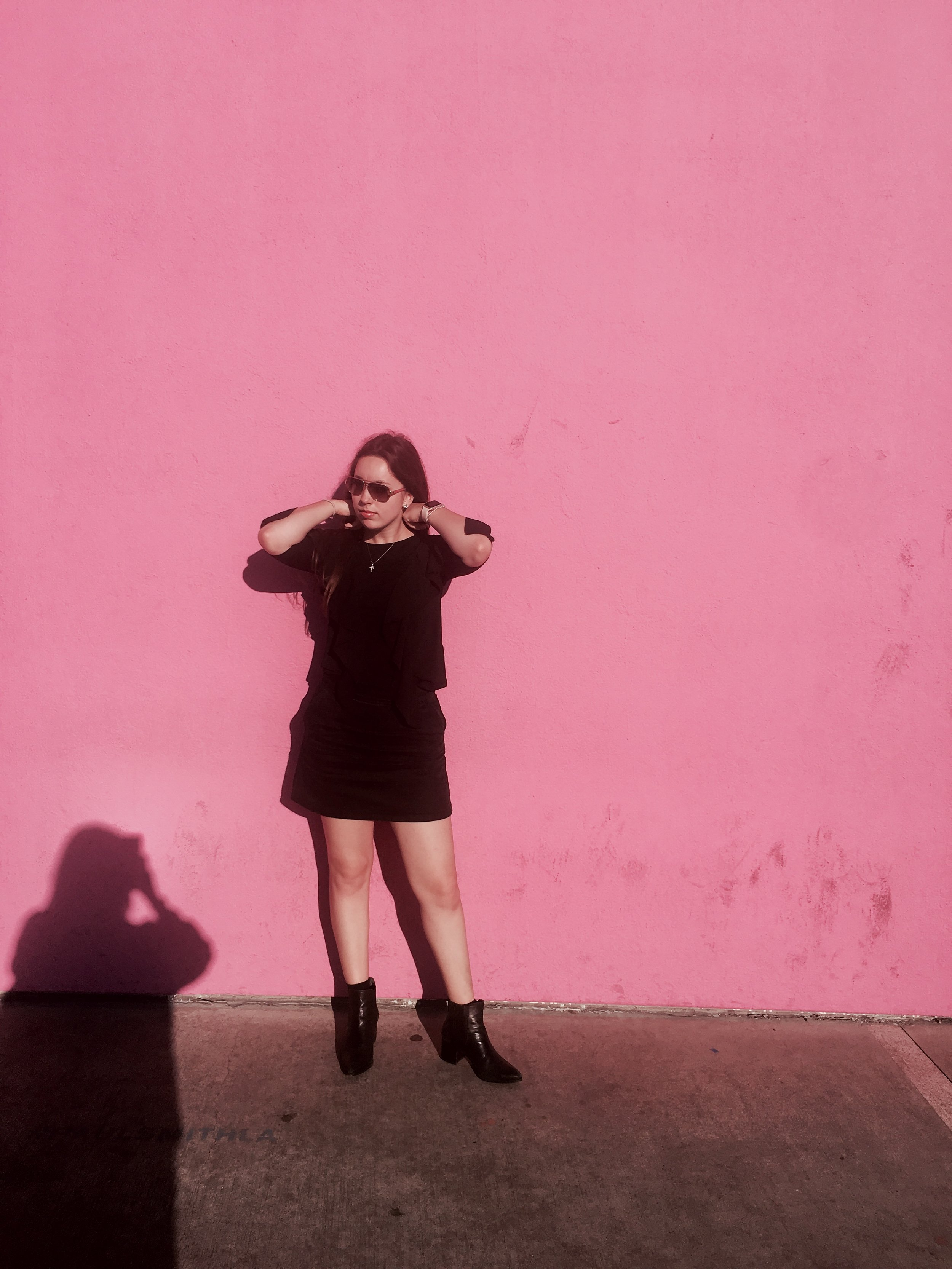 Dressed In Black - I wrote a post about my go to outfit color (black of course).