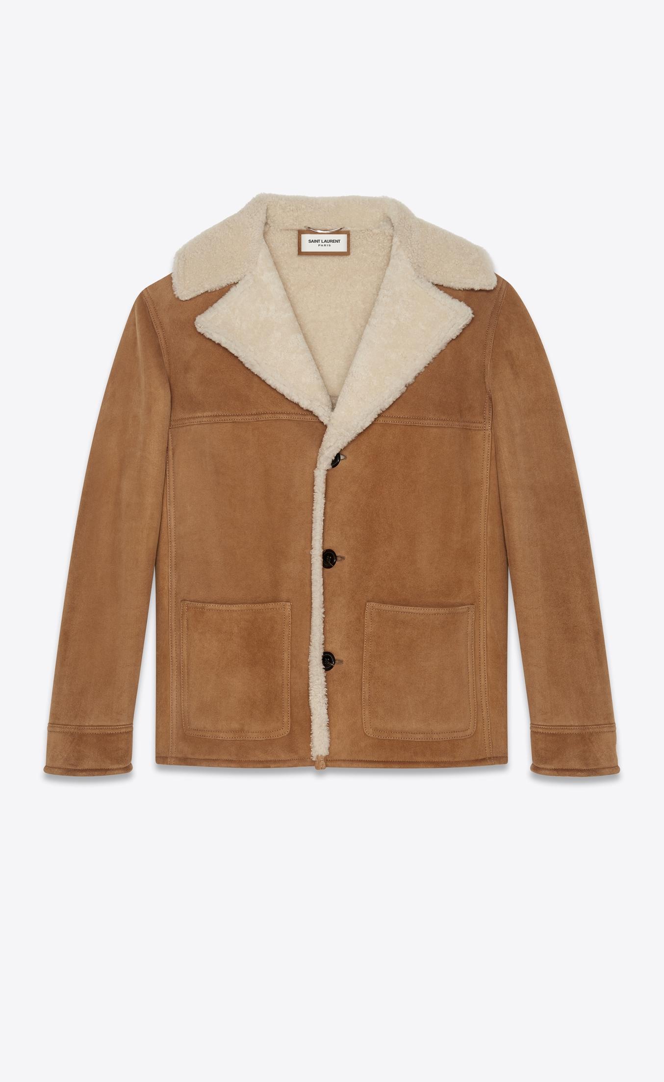 YSL Trapper Coat