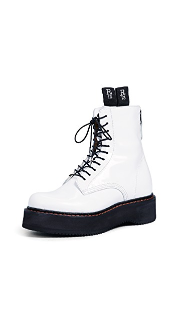 R13 Denim Boots