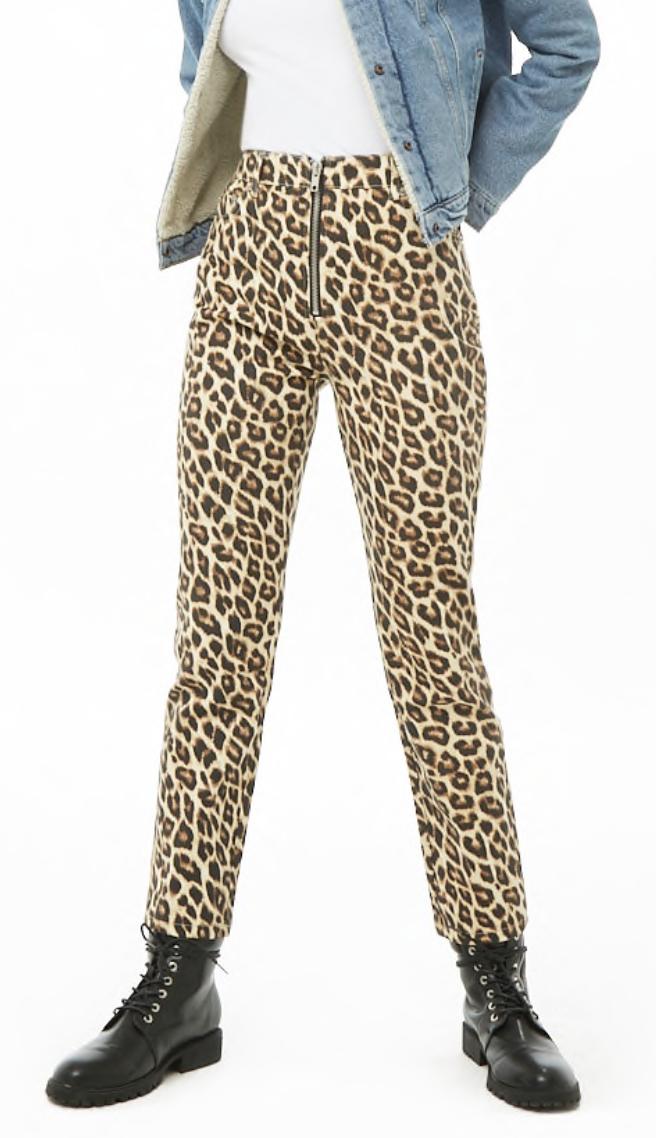 cheetahprintjeansforever21