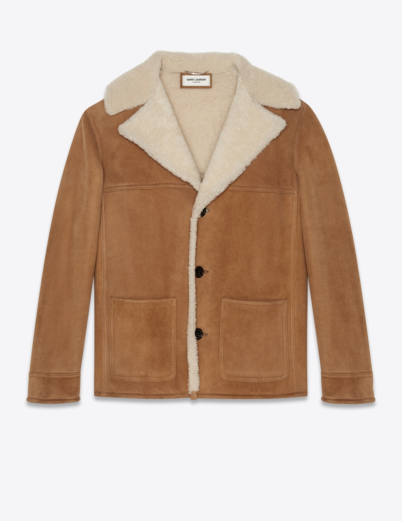 Saint Laurent Trapper Coat