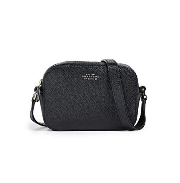 Camera Bag - Camera bags are a staple piece. You can find inexpensive ones in so many places, but I think this Smythson one is so classy and simple.