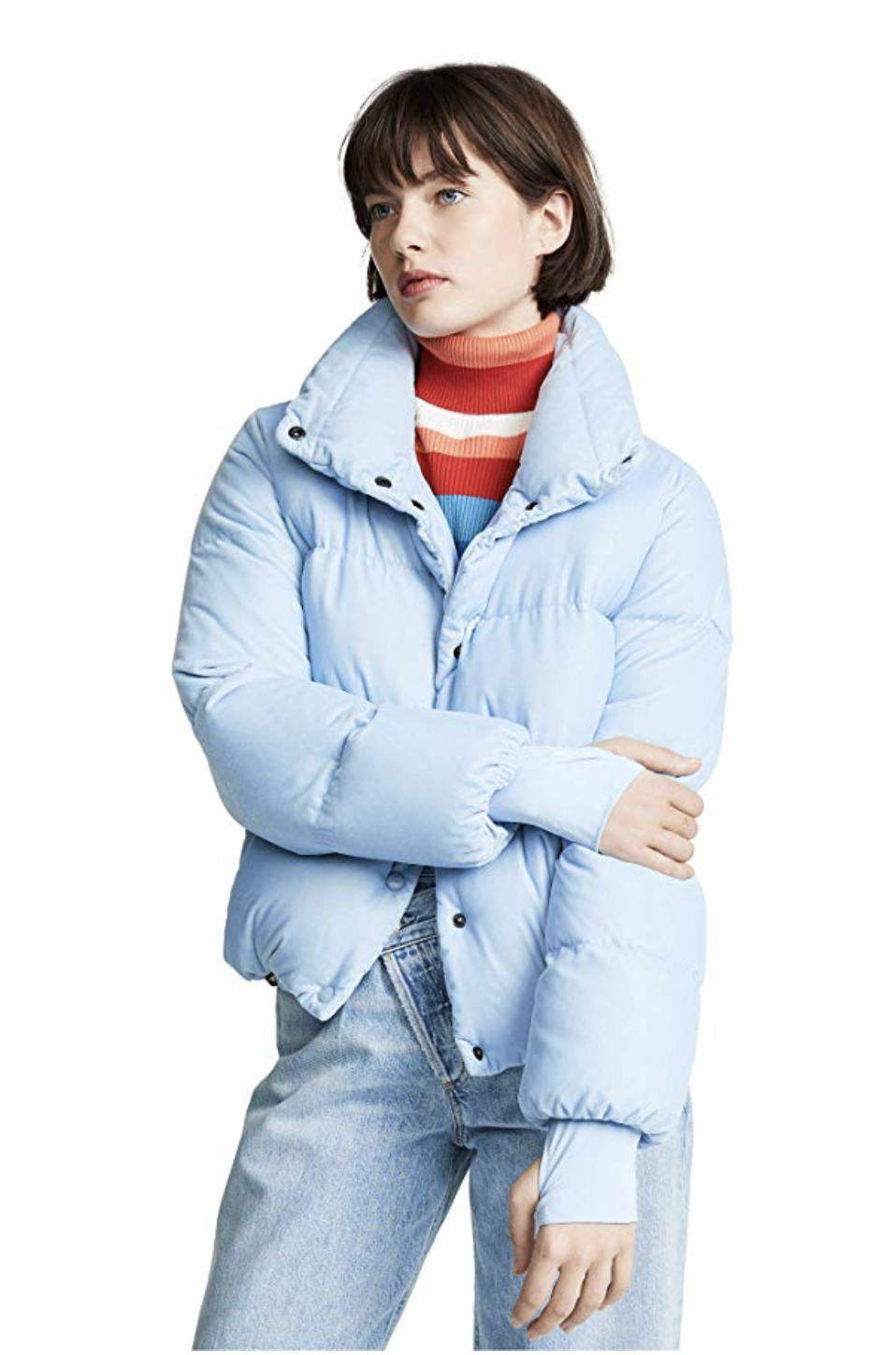 Puffer Coat - Puffer coats are all the hype this season - especially the Aritzia Super Puff. Unfortunately, that one seems to be sold out in almost every color!