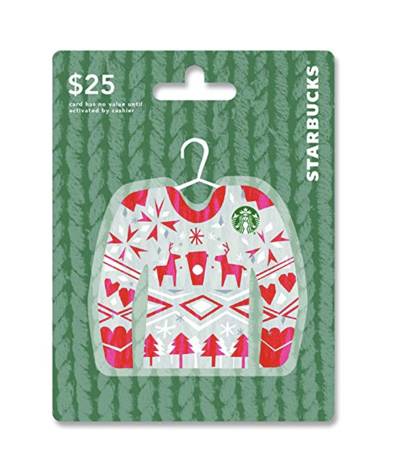Starbucks Gift Card - This is another self-explanatory gift. I am a twenty-two year old girl and I love Starbucks. Relatable right?