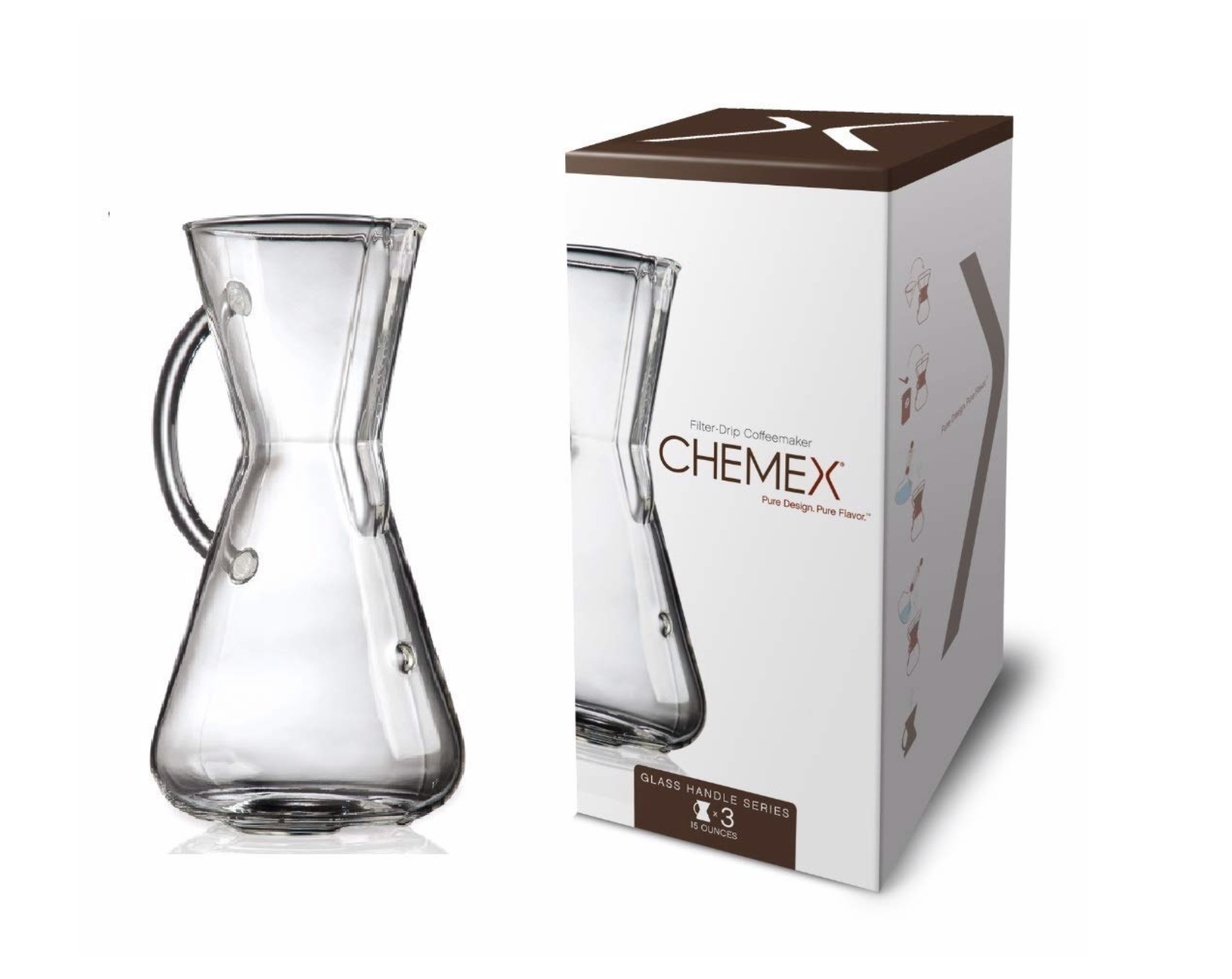 Chemex Coffee Maker - I have yet to try this, but I am highly considering it. I have only heard rave reviews.