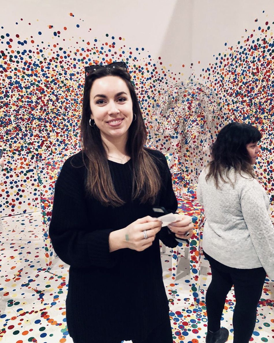 - Took a trip to Atlanta to see the Infinity Mirrors exhibit at The High Museum of Art.
