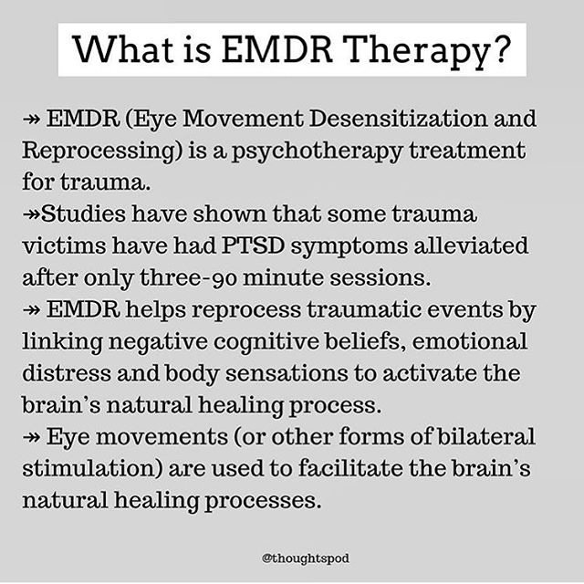 Have you heard about EMDR therapy? @thoughtspod has an episode about it on their podcast for anyone who would like to learn more. 🕊💜 #reclaimyourvoice