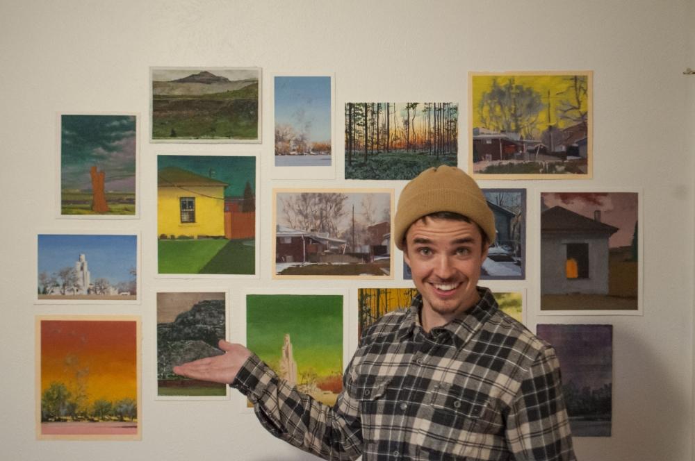 Daniel Granitto in his studio.